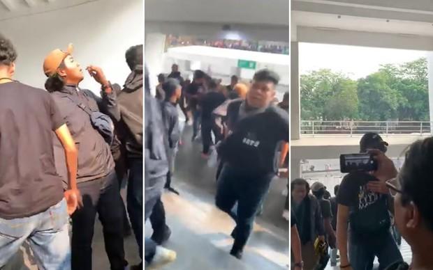 Bạo loạn trận Indonesia - Malaysia: fan chủ nhà ném đá, xô xát với nhóm CĐV đội khách - Ảnh 1.