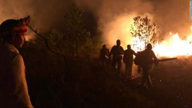 Bộ tộc đang thầm lặng cứu rừng Amazon khỏi giặc lửa - Ảnh 2.