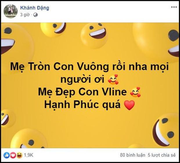 Hot mom triệu followers Thanh Trần đã sinh con gái thứ 2, chồng đặc biệt nhấn mạnh mẹ đẹp con Vline - Ảnh 1.