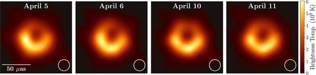 Còn nhớ bức ảnh đầu tiên về hố đen vũ trụ không? Đây là những gì đội chụp ảnh mới nhận được - Ảnh 3.