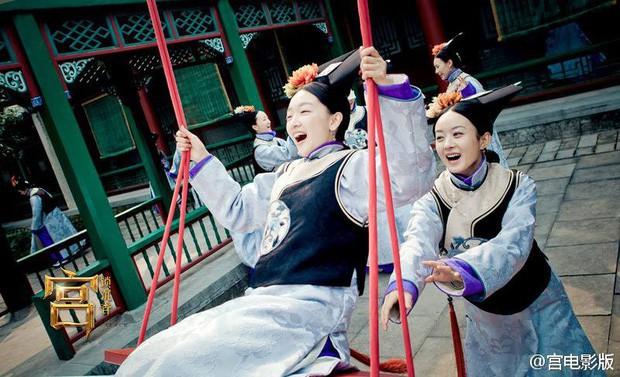 9 mỹ nhân trong bộ trang phục nhà Thanh: Dương Mịch xinh đẹp lộng lẫy, Châu Tấn soái khí ngút trời - Ảnh 11.