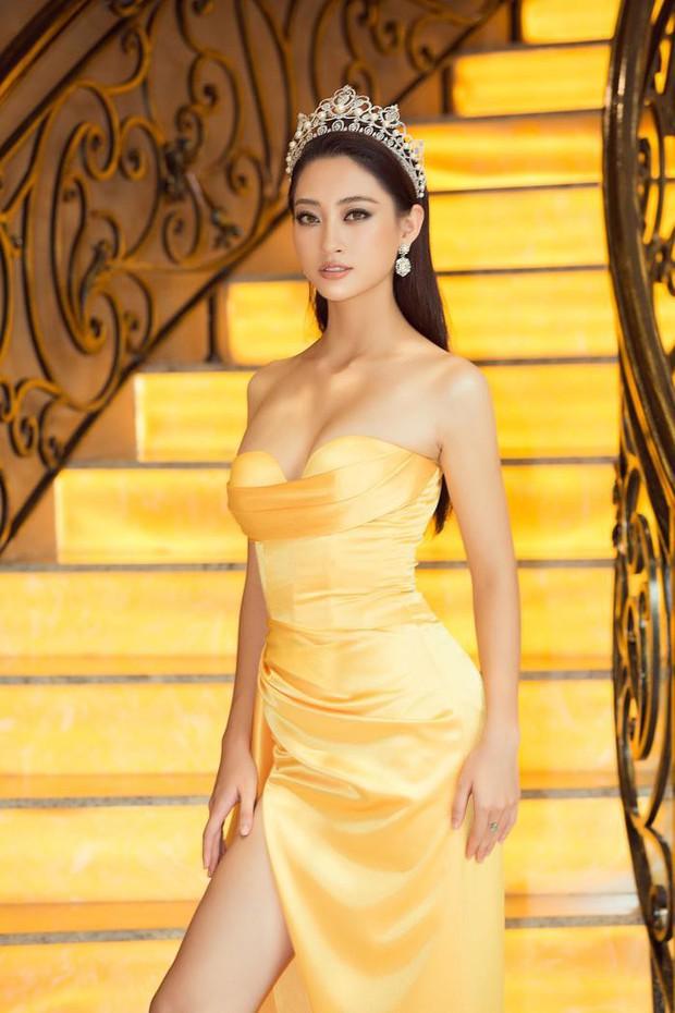 """Đụng váy với HH Lương Thùy Linh: Kỳ Duyên tự hào khoe dáng """"mặc size S còn rộng"""" - Ảnh 3."""