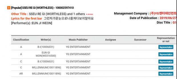 Đã rời YG nhưng đến hôm nay B.I mới được công nhận là tác giả 2 bài hát trong album của tiền bối Eun Jiwon - Ảnh 2.