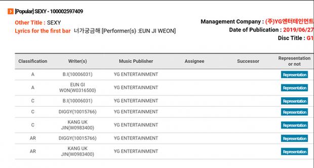 Đã rời YG nhưng đến hôm nay B.I mới được công nhận là tác giả 2 bài hát trong album của tiền bối Eun Jiwon - Ảnh 3.