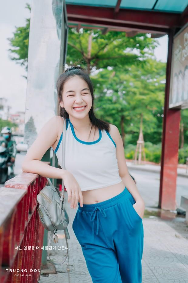 Bộ ảnh xinh tươi đầy sức sống của hotgirl Trường Cao đẳng Nghệ thuật Hà Nội khiến ai nhìn vào cũng thấy yêu đời - Ảnh 1.