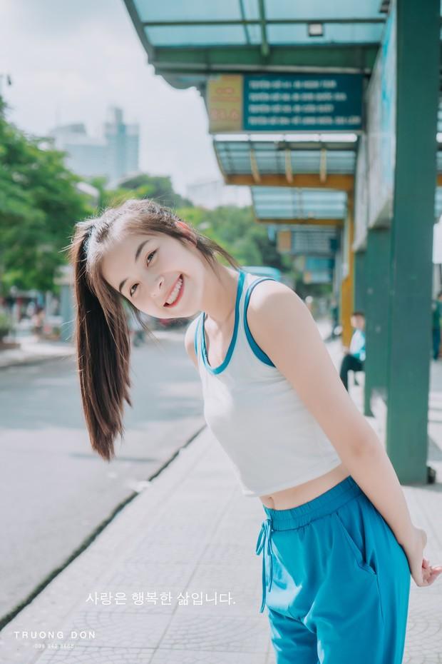 Bộ ảnh xinh tươi đầy sức sống của hotgirl Trường Cao đẳng Nghệ thuật Hà Nội khiến ai nhìn vào cũng thấy yêu đời - Ảnh 3.