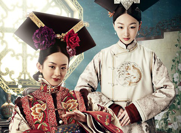 9 mỹ nhân trong bộ trang phục nhà Thanh: Dương Mịch xinh đẹp lộng lẫy, Châu Tấn soái khí ngút trời - Ảnh 13.