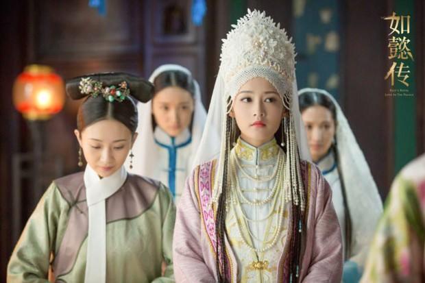 9 mỹ nhân trong bộ trang phục nhà Thanh: Dương Mịch xinh đẹp lộng lẫy, Châu Tấn soái khí ngút trời - Ảnh 21.