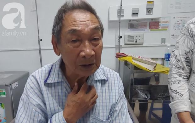 Nghẹn ngào câu nói của cụ ông 84 tuổi dành cho vợ trong bệnh viện: 7 đứa con không lo được, bà bỏ cho tôi chết đi - Ảnh 2.