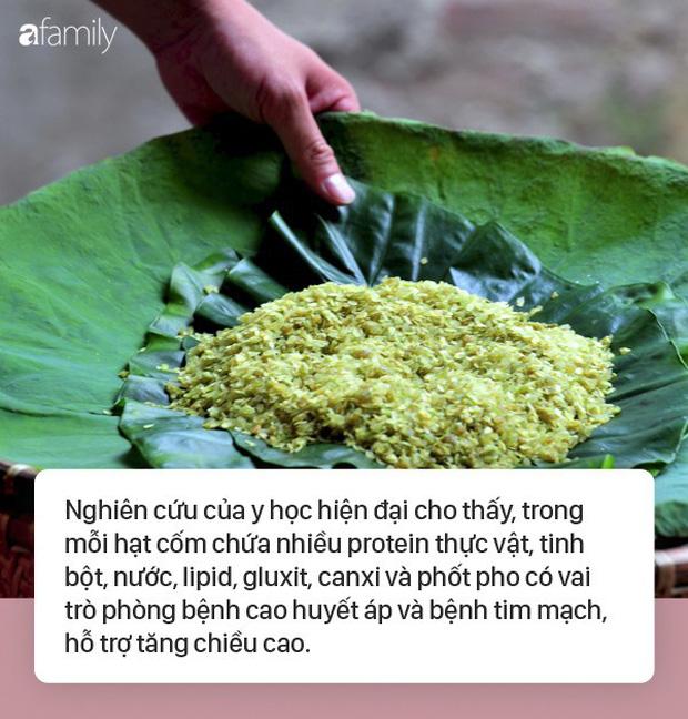 Mùa thu là mùa cốm nhưng trước khi ăn hãy học thuộc những điều này để mua được cốm sạch tránh ăn phải cốm tẩm hóa chất - Ảnh 1.