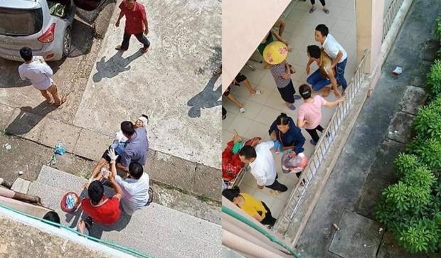 Đang ngủ, cháu bé ở Bắc Giang bị bác ruột chém đứt lìa tay - Ảnh 1.