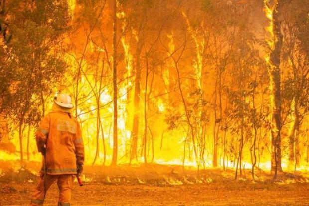 Hơn 100 đám cháy rừng ở Australia, nhiều đám có nguy cơ vượt kiểm soát - Ảnh 1.