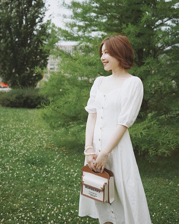 Ngắm Sam yêu kiều và sang chảnh khi diện váy trắng, thế nào chị em cũng muốn sắm ngay vài chiếc - Ảnh 10.