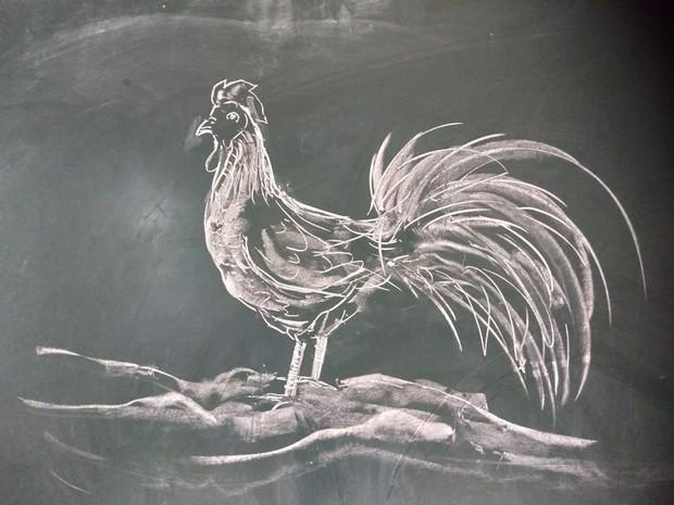Thầy giáo trổ tài vẽ tranh bằng phấn, dân tình thán phục: Đẹp quá chẳng nỡ xóa đi! - Ảnh 5.