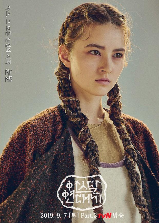 7 bóng hồng của Song Joong Ki ở Arthdal: Hết BLACKPINK, con lai Nga Hàn tới mỹ nhân Nhật đẹp nức lòng người xem - Ảnh 7.