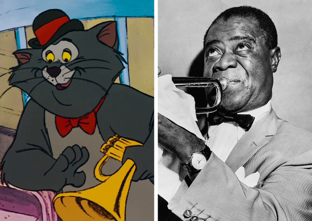 12 phiên bản đời thực của các nhân vật hoạt hình Disney kinh điển: Từ diễn viên nổi tiếng cho tới huyền thoại âm nhạc đều đủ cả - Ảnh 6.