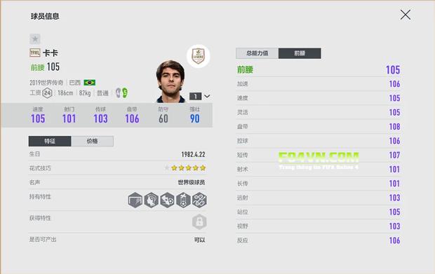 Thiên thần Kaka đã có mặt trong FIFA 20 với thẻ ICON, một ngày không xa sẽ là trên FIFA Online 4 - Ảnh 6.