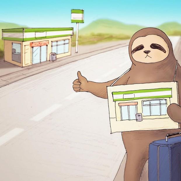 Loạt ảnh sống chậm của một chú lười: Cute thật sự nhưng chắc không ai muốn sống như này đâu - Ảnh 11.