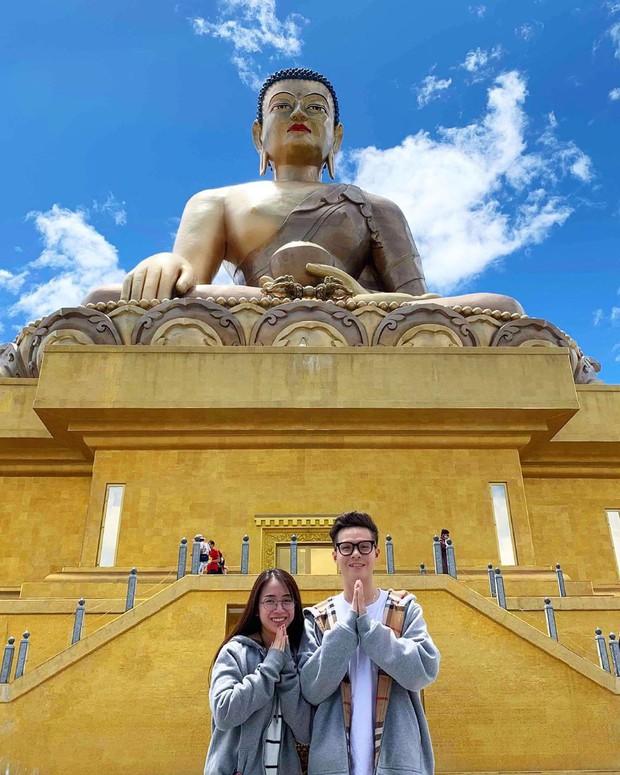 Ngoài sưu tầm đồ hiệu, con gái đại gia Minh Nhựa và chồng mới cưới còn cực mê du lịch sang chảnh - Ảnh 12.
