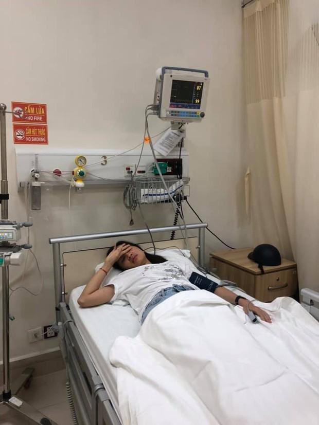 Xôn xao VJ Kim Nhã bị tài xế xe ôm công nghệ túm tóc, đấm liên hồi vào mặt đến mức phải nhập viện vì ngất xỉu - Ảnh 2.