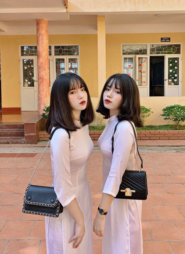 Nữ sinh trường người ta: Đã xinh là phải xinh có đôi, đi khai giảng make up nhẹ như sương nhưng thần thái xuất thần vẫn gây bão rần rần mạng xã hội - Ảnh 2.