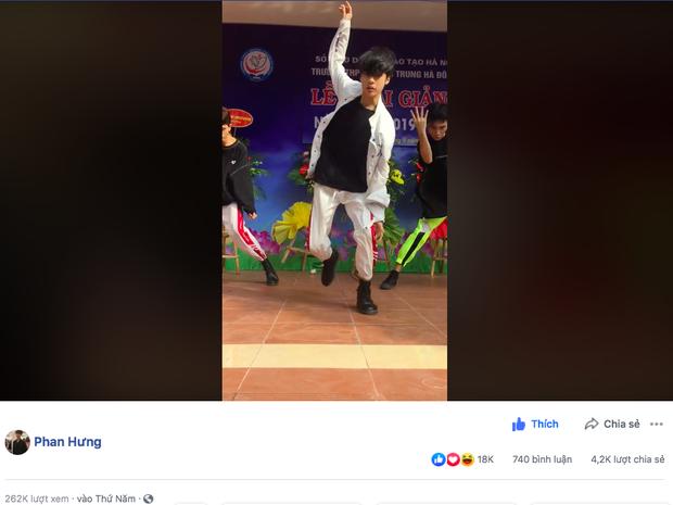 Biểu diễn ở lễ khai giảng thôi mà nam sinh khiến fan Kpop truy lùng ráo riết vì quá điển trai, nhảy vũ đạo boygroup nhà JYP siêu thần thái - Ảnh 4.