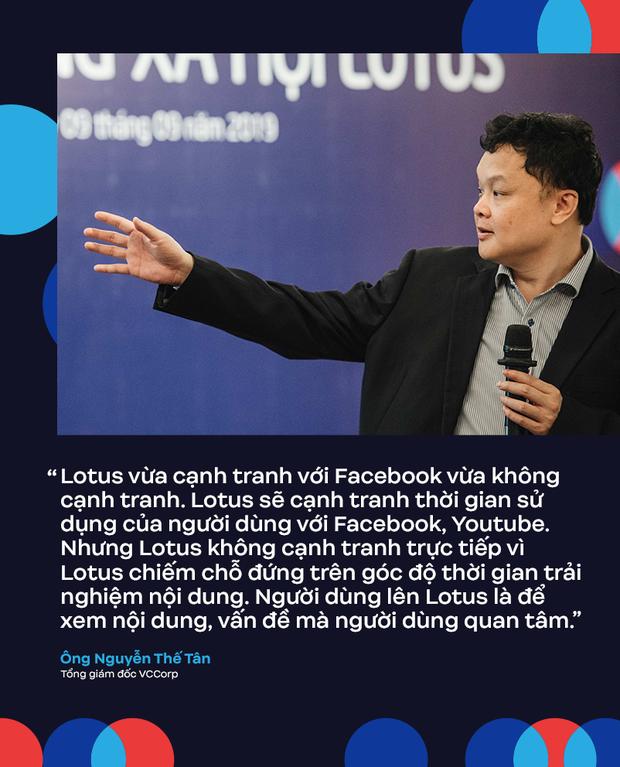 MXH Lotus không cạnh tranh trực tiếp với Facebook vì người dùng lên Lotus là để đọc nội dung - Ảnh 4.