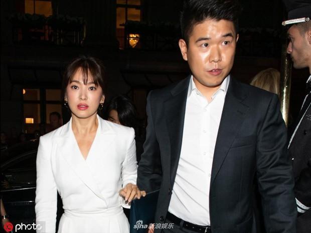 Zoom cận cảnh nhan sắc Song Hye Kyo tại sự kiện: Già nua, lộ dấu hiệu lão hoá và tăng cân? - Ảnh 3.