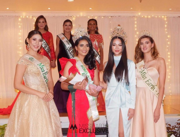 Phương Khánh đội vương miện 3,5 tỷ, diện váy gợi cảm chấm thi chung kết Miss Earth Malaysia 2019 - Ảnh 5.