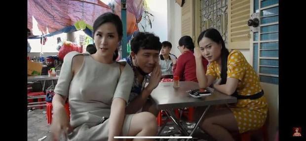 Vướng ngay vết xe đổ của Đông Nhi, Đàm Thu Trang cũng gây hiểu lầm vì chiếc váy khoét sâu có chi tiết phản chủ - Ảnh 2.