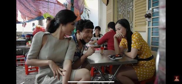 Vướng ngay vết xe đổ của Đông Nhi, Đàm Thu Trang cũng gây hiểu lầm vì chiếc váy khoét sâu có chi tiết phản chủ - Ảnh 3.