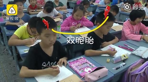 Trường tiểu học có hơn 20 cặp song sinh, khai giảng năm học mới từ cô giáo đến bạn học đều gặp khó khăn khi phân biệt - Ảnh 3.