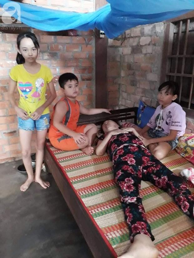 Trung thu đượm buồn của ba đứa trẻ không cha, đau đớn nhìn người mẹ nằm chờ chết vì thiếu tiền chữa bệnh - Ảnh 8.
