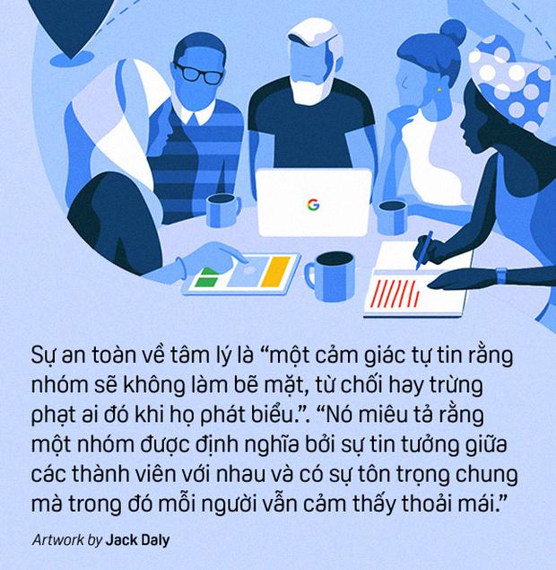 Dự án riêng của Google về teamwork hiệu quả: Không chỉ tạo ảnh hưởng lên cách mọi người làm việc, mà còn là làm việc cùng nhau như thế nào - Ảnh 5.