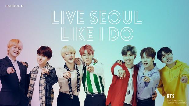 HOT: BTS chính thức trở thành đại sứ quảng bá du lịch Seoul, giờ thì Hàn Quốc sẽ còn đông du khách tới mức nào nữa đây? - Ảnh 3.