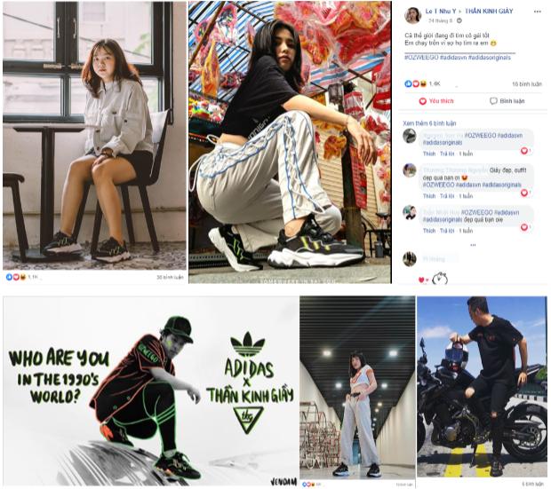 Sốt xình xịch với cuộc chiến OZWEEGO giành giày adidas miễn phí - Ảnh 2.