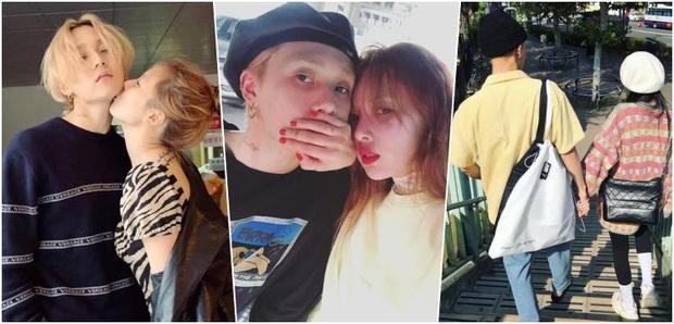 HyunA và DAWN phân phát cẩu lương dịp đầu năm: Nhảy đôi nóng bỏng trên sân khấu chưa đủ, sau hậu trường lại hôn nhau ngọt lịm - Ảnh 1.