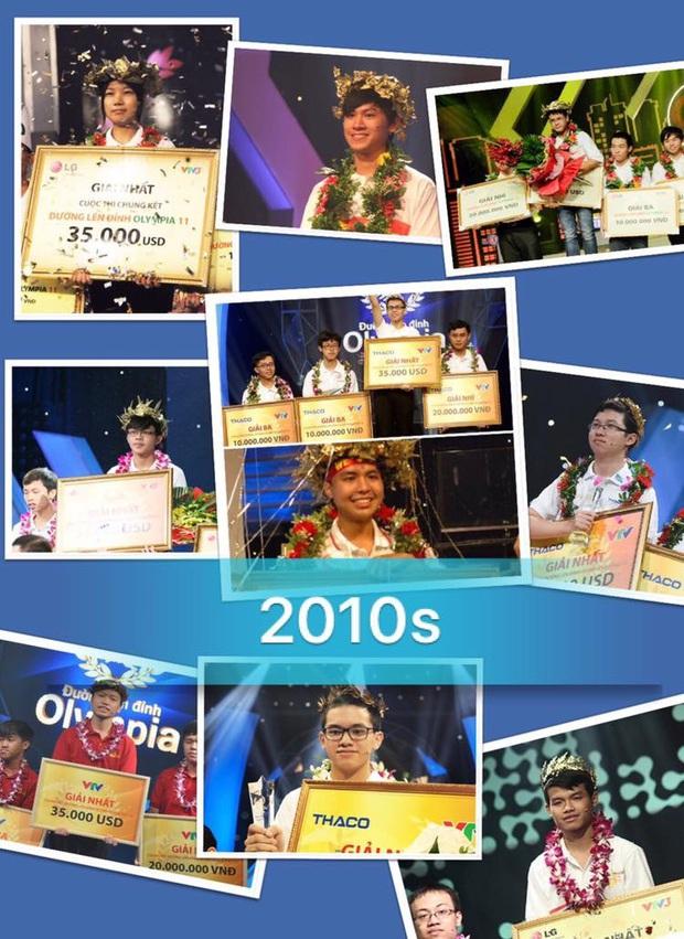 10 quán quân xuất sắc của Olympia 10 năm qua.