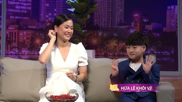 Bị Hồng Vân hỏi họ của con trai, Lâm Vỹ Dạ khẳng định đó là con ruột Hứa Minh Đạt - Ảnh 2.