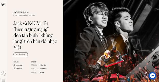 3 hạng mục ganh đua quyết liệt tại WeChoice 2019: Ca sĩ có hoạt động đột phá, MV của năm và Nghệ sĩ Underground có hoạt động nổi bật, ai sẽ chiến thắng? - Ảnh 7.