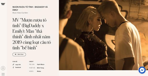 3 hạng mục ganh đua quyết liệt tại WeChoice 2019: Ca sĩ có hoạt động đột phá, MV của năm và Nghệ sĩ Underground có hoạt động nổi bật, ai sẽ chiến thắng? - Ảnh 16.