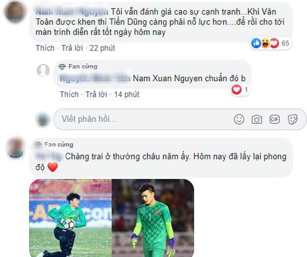 Dân mạng Việt Nam khen tới tấp Bùi Tiến Dũng sau trận đấu U23 Việt Nam hòa 0-0 U23 UAE: Best lật mặt là đây - Ảnh 6.