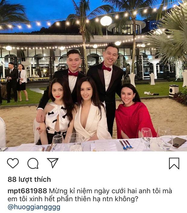 Mai Phương Thúy, Hương Giang cùng đọ vòng một khủng trong tiệc kỷ niệm 5 năm đám cưới của NTK Adrian Anh Tuấn - Ảnh 1.