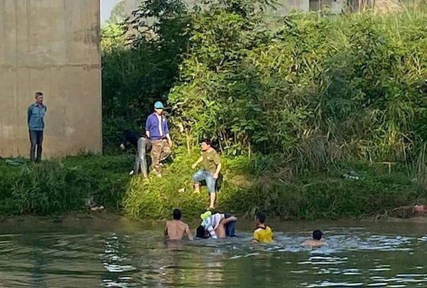 Nữ sinh lớp 10 gieo mình xuống dòng sông ngày cận Tết, may mắn được cứu sống - Ảnh 1.