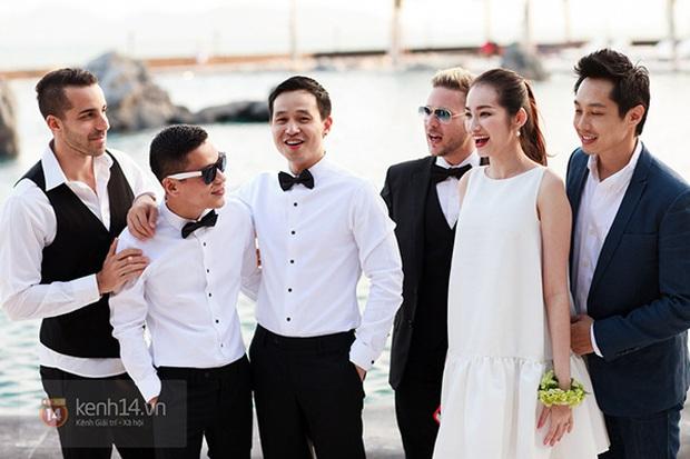 Mai Phương Thúy, Hương Giang cùng đọ vòng một khủng trong tiệc kỷ niệm 5 năm đám cưới của NTK Adrian Anh Tuấn - Ảnh 3.