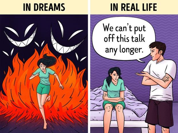 Giải mã bí ẩn giấc mơ: Tại sao chúng ta lại mơ thấy những điều quá sức dị thường, thậm chí là ác mộng? - Ảnh 2.