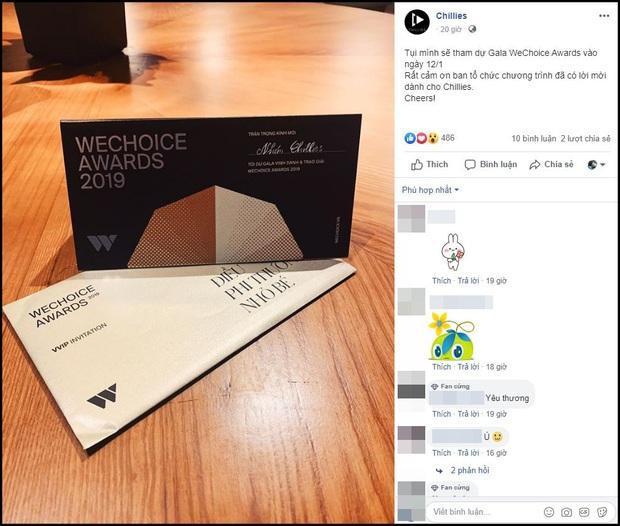 Hot nhất nhì MXH bây giờ chính là thiệp mời Gala WeChoice Awards 2019, dàn khách mời nổi tiếng đua nhau khoe! - Ảnh 12.