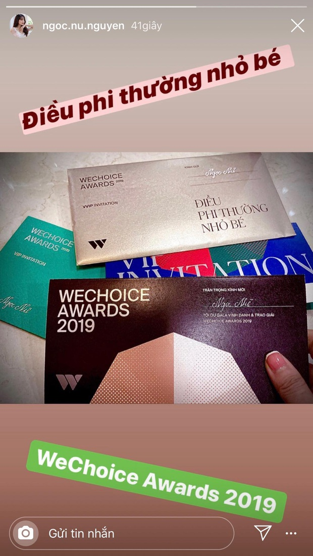Hot nhất nhì MXH bây giờ chính là thiệp mời Gala WeChoice Awards 2019, dàn khách mời nổi tiếng đua nhau khoe! - Ảnh 5.