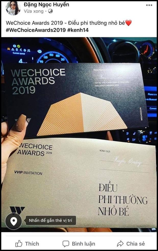 Hot nhất nhì MXH bây giờ chính là thiệp mời Gala WeChoice Awards 2019, dàn khách mời nổi tiếng đua nhau khoe! - Ảnh 1.