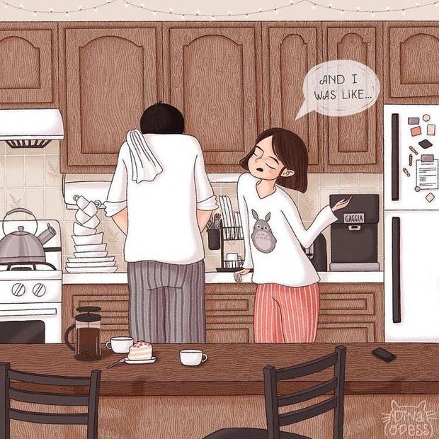 Đàn ông rung đùi uống trà ngày Tết trong khi vợ cắm mặt dọn dẹp nhà cửa: Nói em nghỉ đi để anh làm nhé có khó đến vậy không? - Ảnh 3.